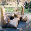 """Working Model for Three Piece No. 3: Vertebrae"" by Henry Moore"