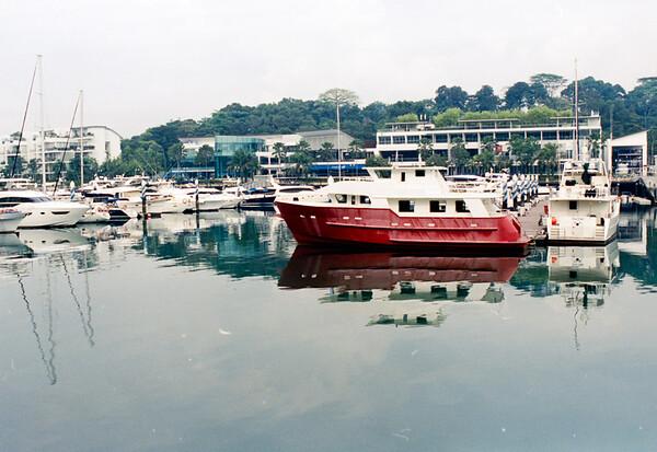 Sentosa Cove Marina