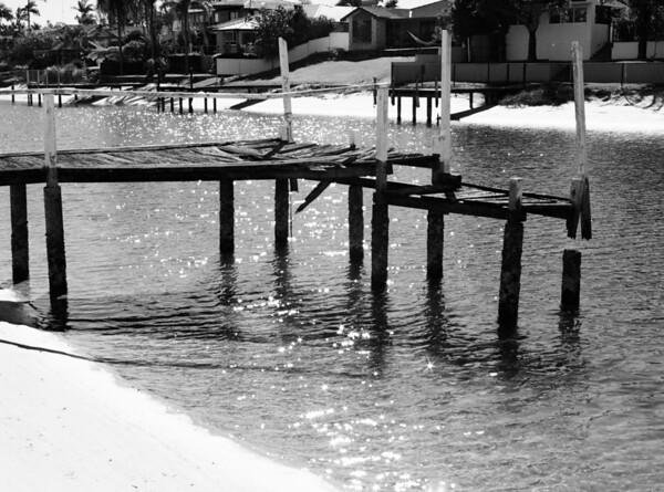 Old Jetty in Canal