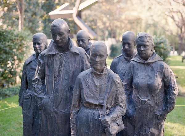 """""""Rush Hour"""" by George Segal"""