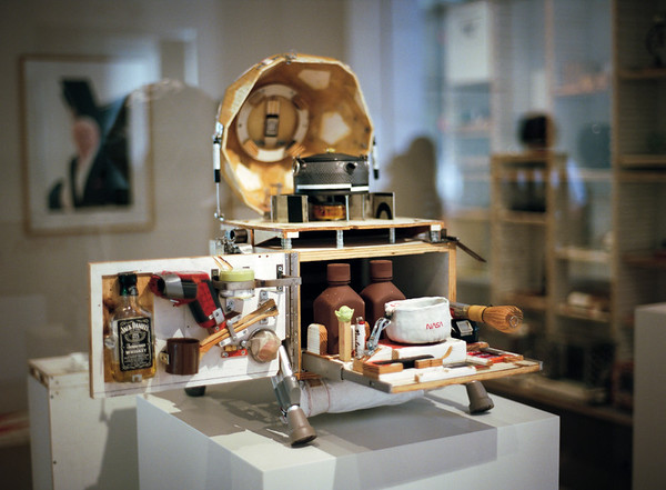 "from exhibit ""Tea Ceremony"" by Tom Sachs"