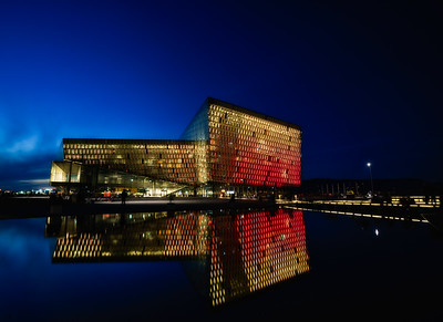 Harpa at Blue Hour