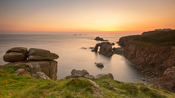 Land's End on Fire