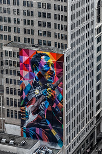 WAC Big Walls - Eduardo Kobra - Muddy Waters