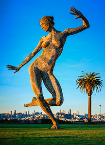"""Bliss Dance"" by Marco Cochrane, Treasure Island, San Francisco, CA"