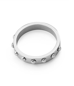 Fiona dot ring, Silver