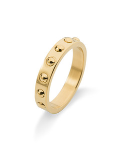 Fiona dot ring, Gold