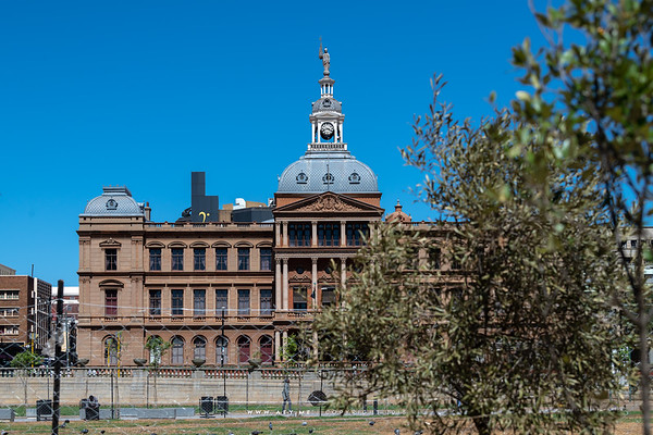 Ou Raadsaal or Parliament Building in Pretoria, South Africa