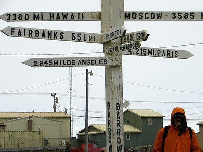 Almost as close to Moscow as we were to Los Angeles, but no, we could not see Russia from where we were standing :)