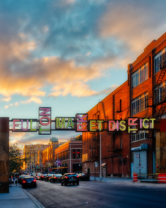 Fulton Market Sunset