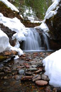 A small waterfall, Telluride, Colorado.