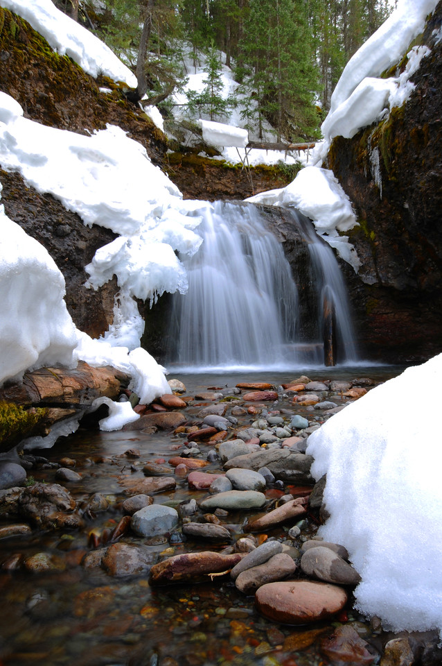 A small waterfall, Telluride, Colorado.
