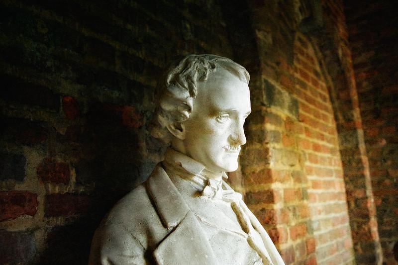 Bust of Edgar Allan Poe