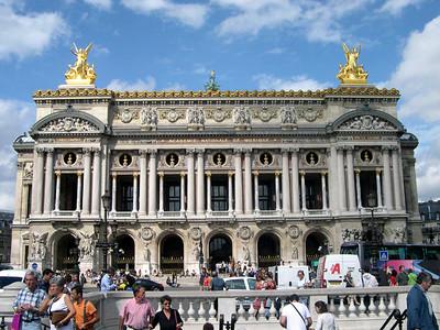 Opera de Paris Garnier (The Paris Opera House, AD 1862), setting for the famous Phantom of the Opera.
