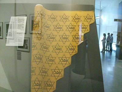 Exhibit inside the Judisches Museum in Berlin.