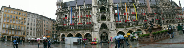 The Neues Rathaus (Town Hall) in Marienplatz in Munich.