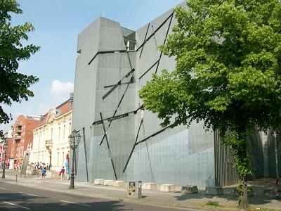 The Judisches Museum in Berlin.