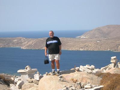 Ed on the island of Delos.