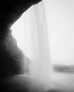 Seljalandsfoss - Under the Waterfall