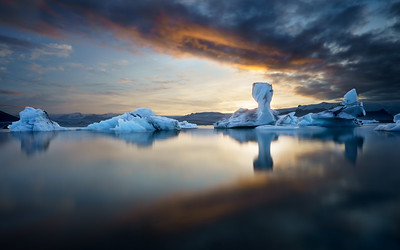 Jokulsarlon - Land of Fire and Ice