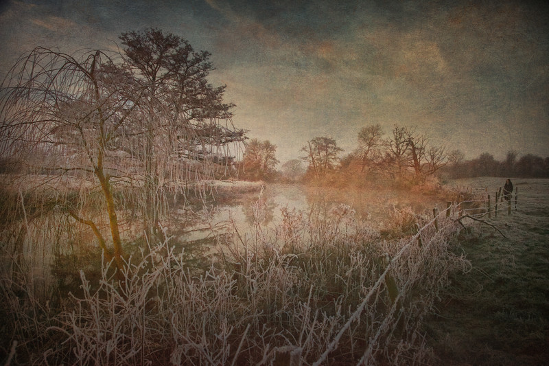 The River Avon, Avonview Farm, Wiltshire