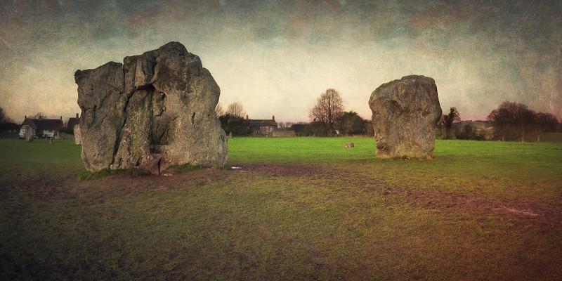 Avebury Circle and Henge, Wiltshire, Great Britain