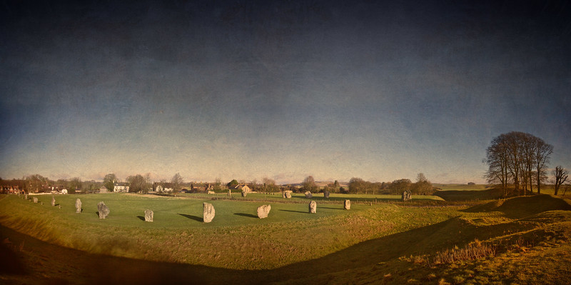 The Great Circle, The Southern Circle, The Henge and Avebury