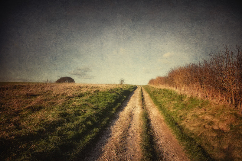 Overton Hill, Avebury, WIltshire, Great Britain.