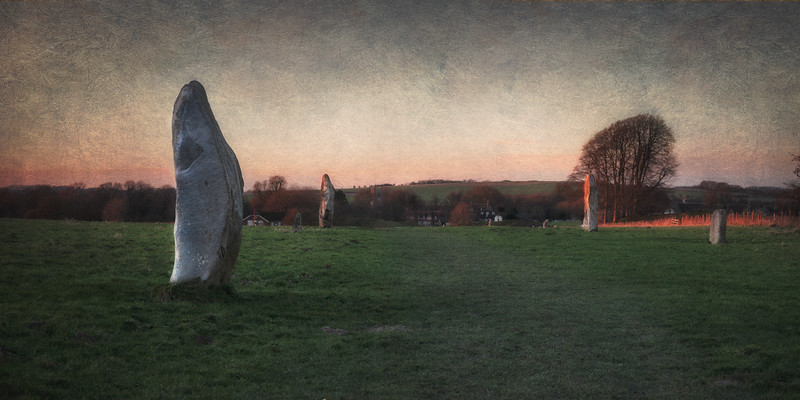 West Kennet Avenue, Avebury Circle and Henge, Wiltshire