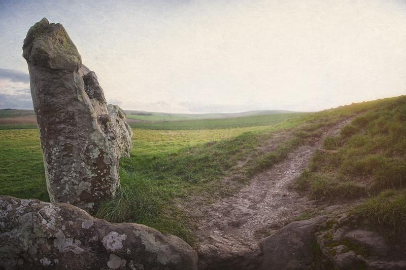 West Kennet Long Barrow, Avebury World Heritage Site, Wiltshire, Great Britain