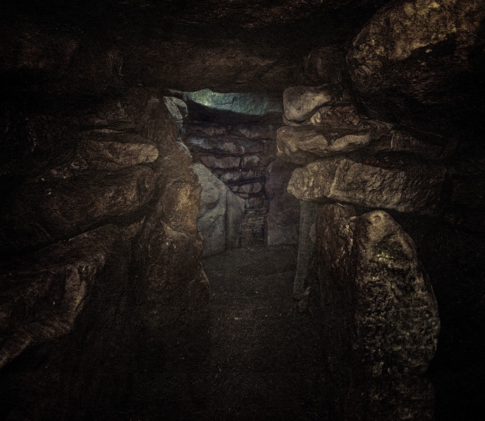Interior of the West Kennet Long Barrow