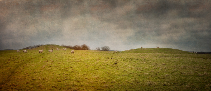 Windmill Hill, Avebury World Heritage Site, Wiltshire, Great Britain