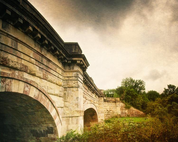 Avoncliff Aqueduct Canal Bridge