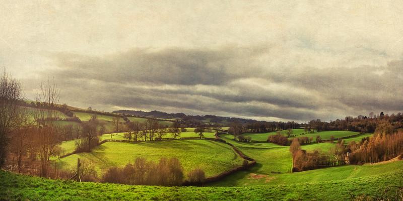 Near Castle Combe, Wiltshire, Great Britain