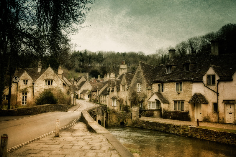 ByWater Bridge at the Edge of Castle Combe