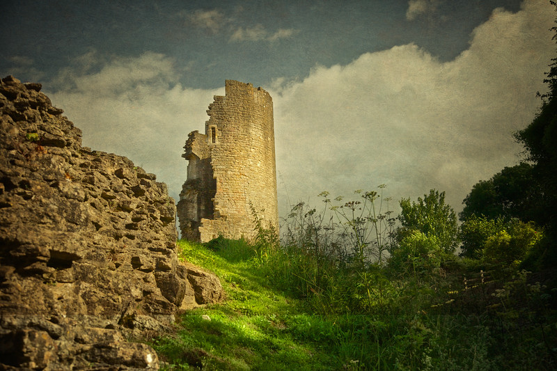 Farleigh Hungerford Castle, Somerset, England