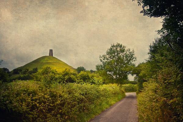 Glastonbury Tor, Somerset, Wiltshire, England