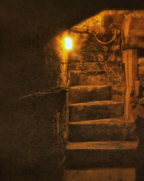 Haunted Cellar, The George and Pilgrims Hotel, Glastonbury, Somerset
