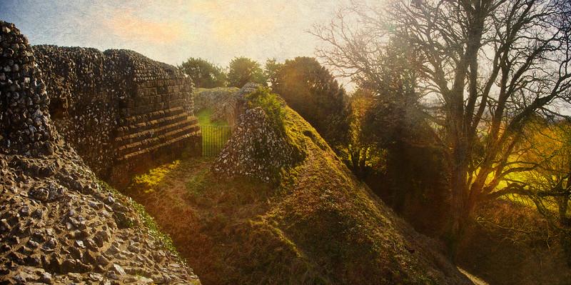 Old Sarum, Salisbury, Wiltshire