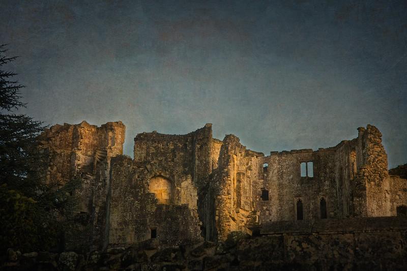 Old Wardour Castle, Tisbury, Salisbury, Wiltshire