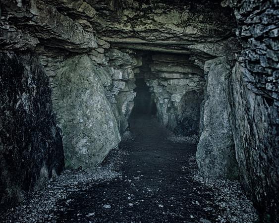 Interior of Stoney Littleton Long Barrow