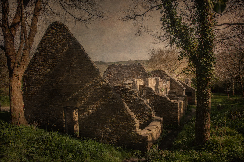 Tyneham Village, Dorset, UK