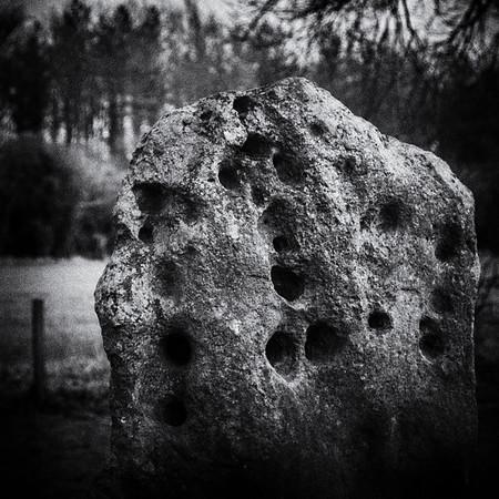 Sarsen Stone With Holes