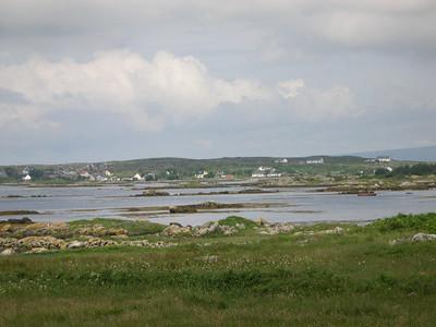 Looking out across Kilkieran (Cill Chiaráin) Bay in County Galway.