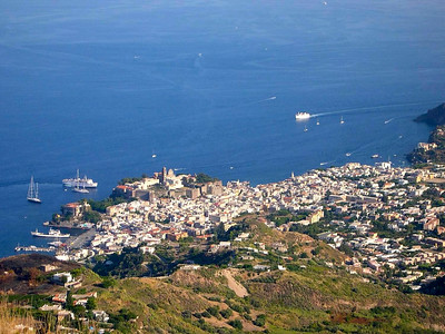 The harbor town of Lipari is where the majority of the people on Isola Lipari live. There are a couple of other small towns and villages scattered around the island.