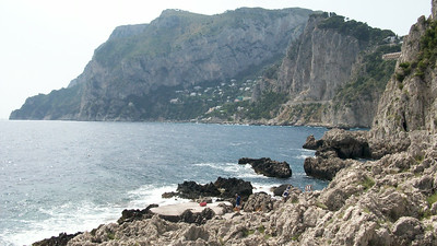 More scenery from our hike around the southern coast of Capri.
