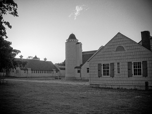 Caumsett Dairy Barns, c. 1925, John Russell Pope, architect, Lloyd Neck, Town of Huntington, Suffolk County, Long Island, New York