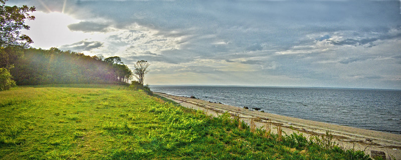 Long Island Landscape, Caumsett State Park, Lloyd Neck, Town of Huntington, Suffolk County, Long Island, New York