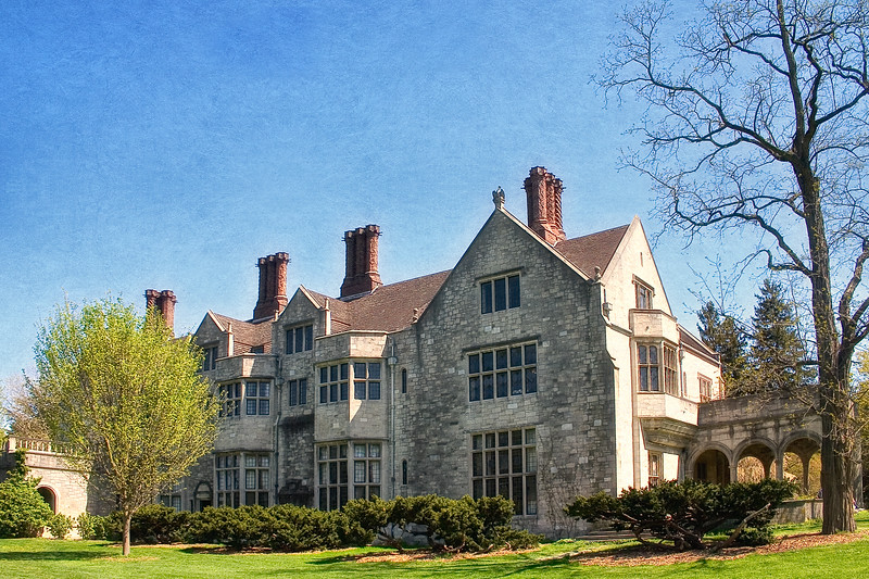 Coe Hall, Planting Fields Arboretum, Long Island, New York, Oyster Bay, Nassau County, Long Island, New York