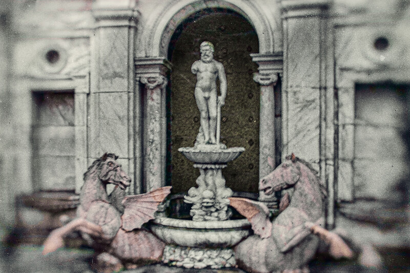 Fountain, WInfield Hall, Glen Cove